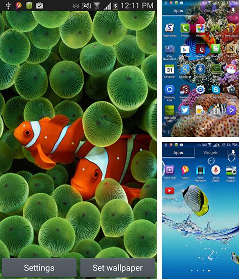 In addition to Aquarium by Seafoam live wallpapers for Android, you can download other free Android live wallpapers for Xiaomi Mi6 X.