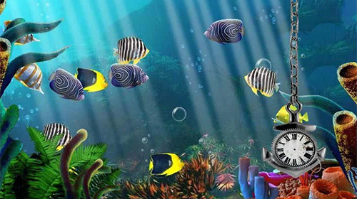 Aquarium Clock Live Wallpaper For Android Aquarium Clock