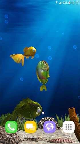 Aquarium fish 3D by BlackBird Wallpapers