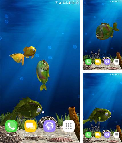 Download live wallpaper Aquarium fish 3D by BlackBird Wallpapers for Android. Get full version of Android apk livewallpaper Aquarium fish 3D by BlackBird Wallpapers for tablet and phone.