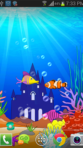 Download livewallpaper Aquarium: Undersea for Android. Get full version of Android apk livewallpaper Aquarium: Undersea for tablet and phone.