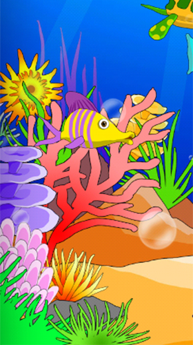 Screenshots of the Aquarium: Undersea for Android tablet, phone.