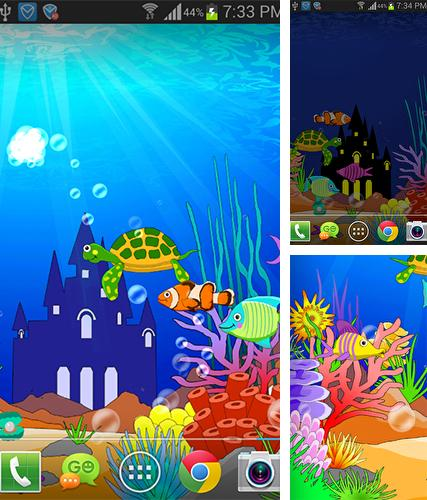 Download live wallpaper Aquarium: Undersea for Android. Get full version of Android apk livewallpaper Aquarium: Undersea for tablet and phone.