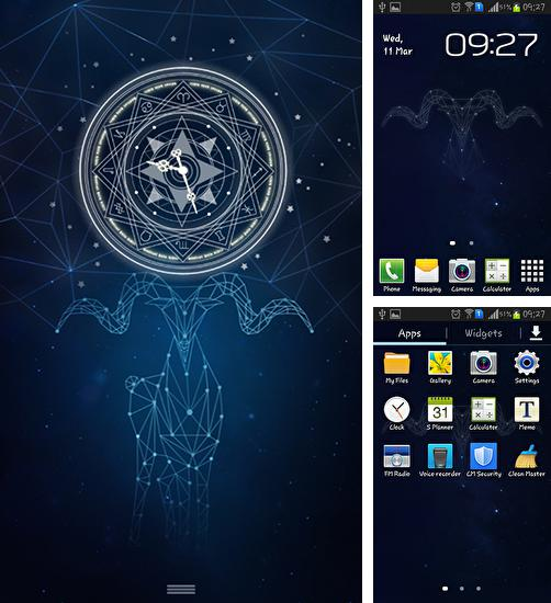 In addition to live wallpaper Rainy night for Android phones and tablets, you can also download Aries phantom for free.