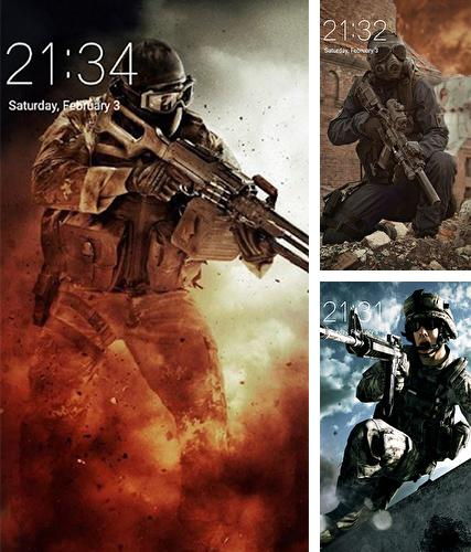 Download live wallpaper Army for Android. Get full version of Android apk livewallpaper Army for tablet and phone.