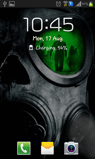 Screenshots von Army: Gas mask für Android-Tablet, Smartphone.