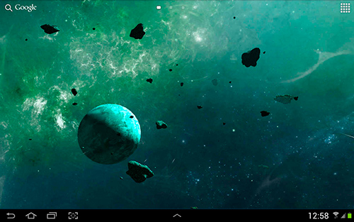 Download Asteroids 3D - livewallpaper for Android. Asteroids 3D apk - free download.
