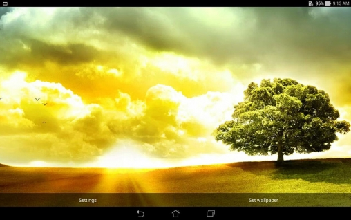 Kostenloses Android-Live Wallpaper Asus: Day Scene. Vollversion der Android-apk-App Asus: Day scene für Tablets und Telefone.
