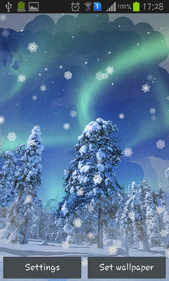 Download Aurora: Winter - livewallpaper for Android. Aurora: Winter apk - free download.