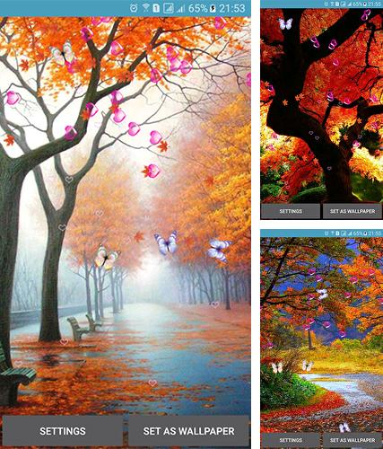 Autumn by 3D Top Live Wallpaper