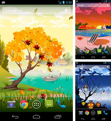 In addition to live wallpaper Ocean waves by Wonder Girls for Android phones and tablets, you can also download Autumn by blakit for free.