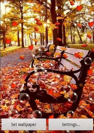 Screenshots of the Autumn by SubMad Group for Android tablet, phone.