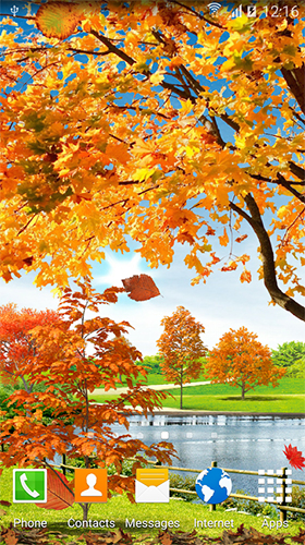 Download Autumn pond - livewallpaper for Android. Autumn pond apk - free download.