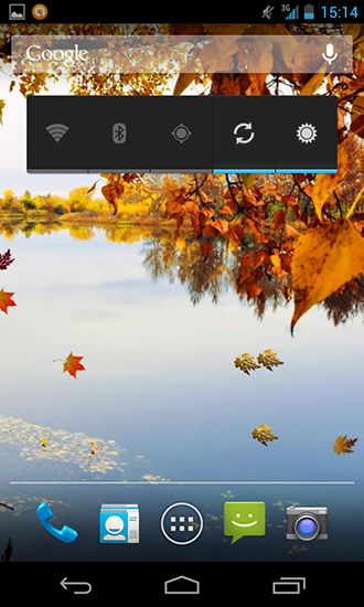 Screenshots von Autumn river HD für Android-Tablet, Smartphone.