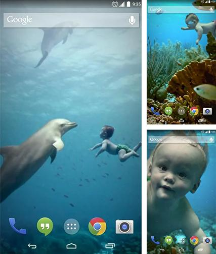 Download live wallpaper Baby floats for Android. Get full version of Android apk livewallpaper Baby floats for tablet and phone.