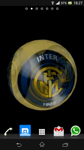 Ball 3D Inter Milan