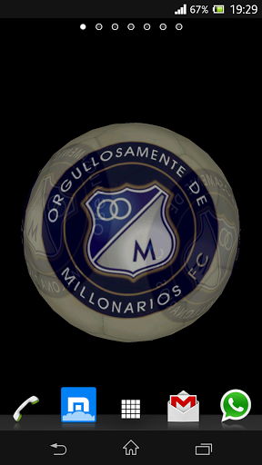 Download livewallpaper Ball 3D: Millonarios for Android. Get full version of Android apk livewallpaper Ball 3D: Millonarios for tablet and phone.