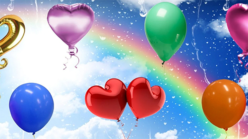 Balloons by Cosmic Mobile Wallpapers
