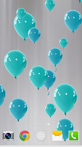 Kostenloses Android-Live Wallpaper Ballons. Vollversion der Android-apk-App Balloons by FaSa für Tablets und Telefone.