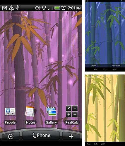 Download live wallpaper Bamboo forest for Android. Get full version of Android apk livewallpaper Bamboo forest for tablet and phone.