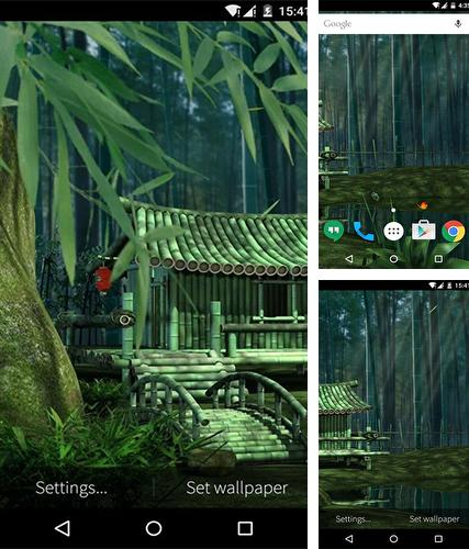 Download live wallpaper Bamboo house 3D for Android. Get full version of Android apk livewallpaper Bamboo house 3D for tablet and phone.