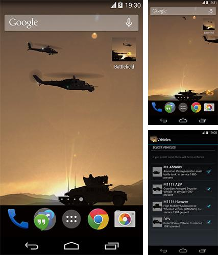 Download live wallpaper Battlefield for Android. Get full version of Android apk livewallpaper Battlefield for tablet and phone.