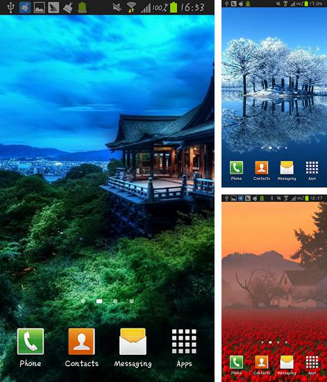 In addition to live wallpaper Nature by Creative Factory Wallpapers for Android phones and tablets, you can also download Beauteous for free.