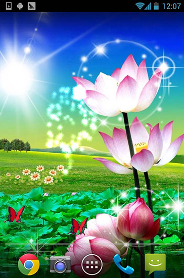 Beautiful Lotus Live Wallpaper For Android Free Download Tablet And Phone