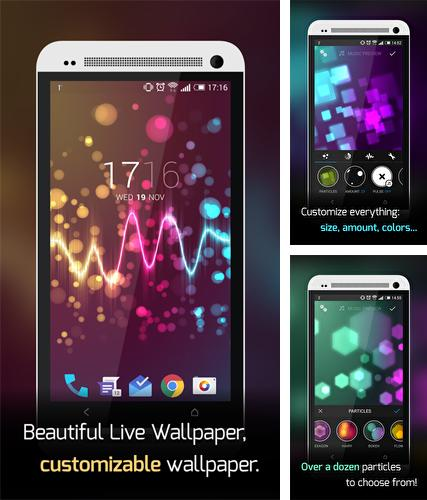 Download live wallpaper Beautiful music visualizer for Android. Get full version of Android apk livewallpaper Beautiful music visualizer for tablet and phone.