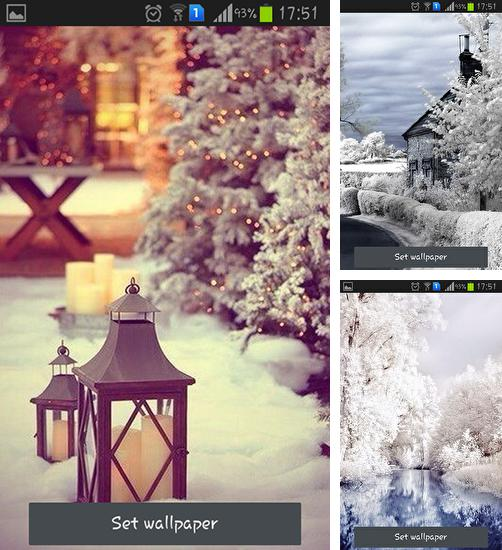 In addition to live wallpaper Music by Free Wallpapers and Backgrounds for Android phones and tablets, you can also download Beautiful winter for free.