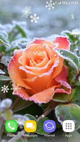 Beautiful winter by Amax LWPS für Android spielen. Live Wallpaper Schöner Winter kostenloser Download.