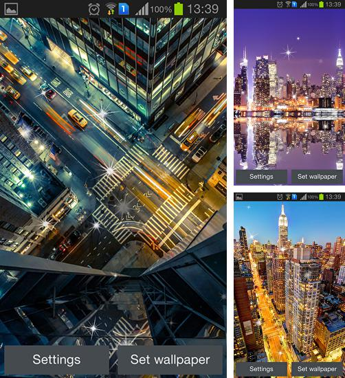 In addition to live wallpaper New Year's Eve for Android phones and tablets, you can also download Big city for free.