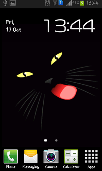 Download livewallpaper Black cat for Android. Get full version of Android apk livewallpaper Black cat for tablet and phone.