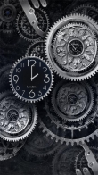 Black Clock - download free live wallpapers for Android. Black Clock full Android apk version for tablets and phones.