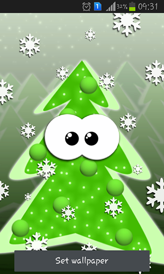 Screenshots of the Blicky: Xmas for Android tablet, phone.