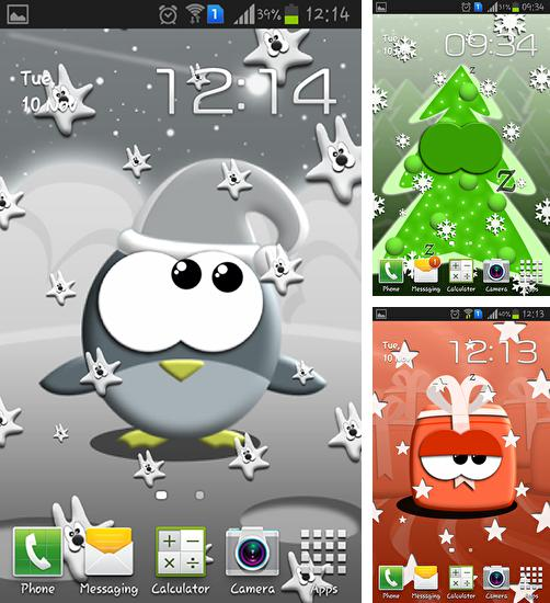 In addition to live wallpaper Blue flame for Android phones and tablets, you can also download Blicky: Xmas for free.