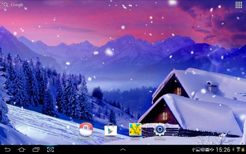 Blizzard live wallpaper for Android  Blizzard free download for