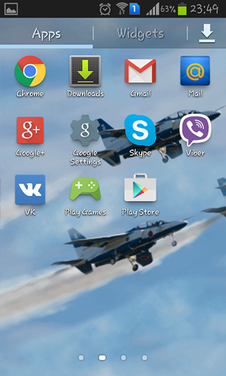 Download Blue impulse - livewallpaper for Android. Blue impulse apk - free download.