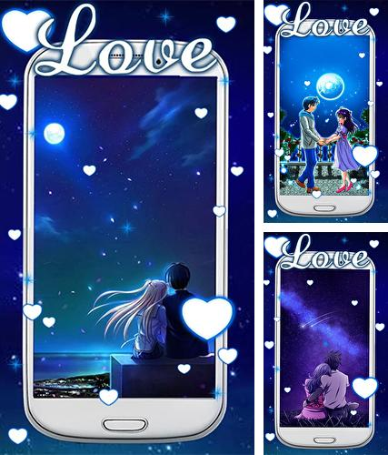 Download live wallpaper Blue love for Android. Get full version of Android apk livewallpaper Blue love for tablet and phone.