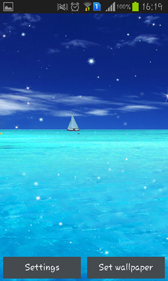 Screenshots von Blue ocean für Android-Tablet, Smartphone.