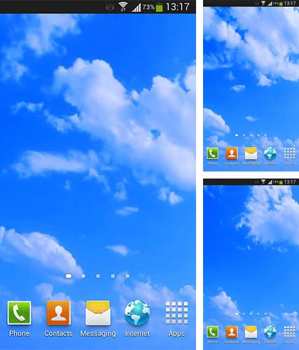 Download live wallpaper Blue sky for Android. Get full version of Android apk livewallpaper Blue sky for tablet and phone.