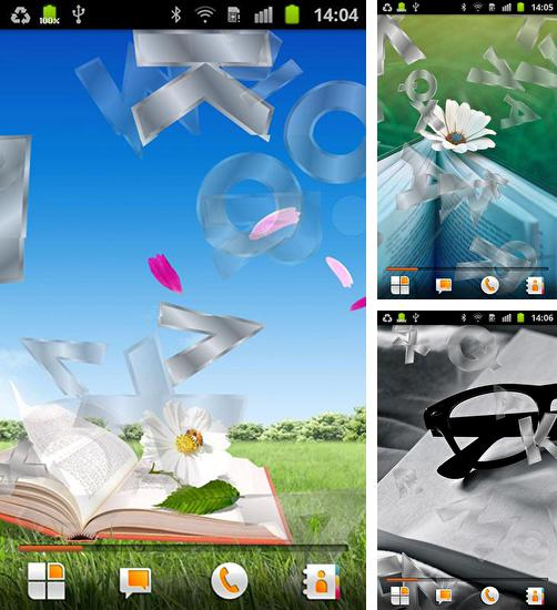 In addition to Books live wallpapers for Android, you can download other free Android live wallpapers for Cubot X11.