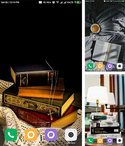 Download live wallpaper Books by TeaTech for Android. Get full version of Android apk livewallpaper Books by TeaTech for tablet and phone.