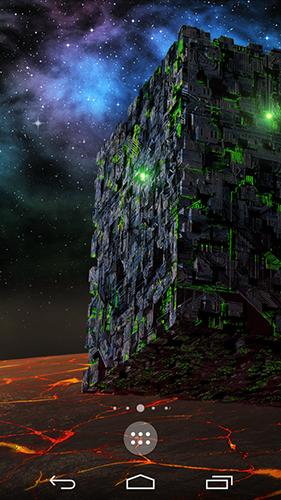 Borg sci-fi live wallpaper for Android  Borg sci-fi free