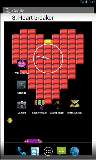 Download Bricks Pro - livewallpaper for Android. Bricks Pro apk - free download.