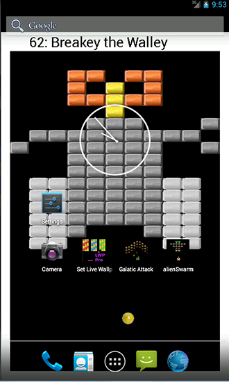 Screenshots of the Bricks Pro for Android tablet, phone.