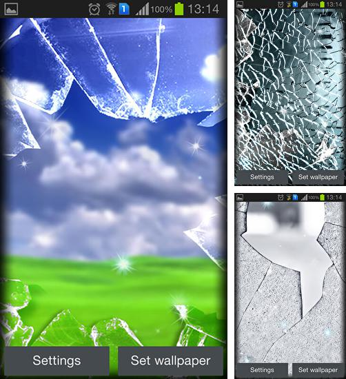 In addition to live wallpaper Cherry Blossom for Android phones and tablets, you can also download Broken glass for free.