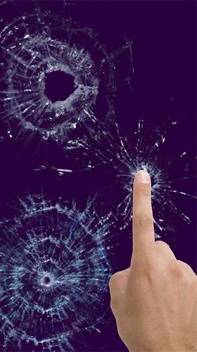 Broken Glass By Cosmic Mobile Pour Android A Telecharger Gratuitement Fond D Ecran Anime Ecran Casse Sous Android