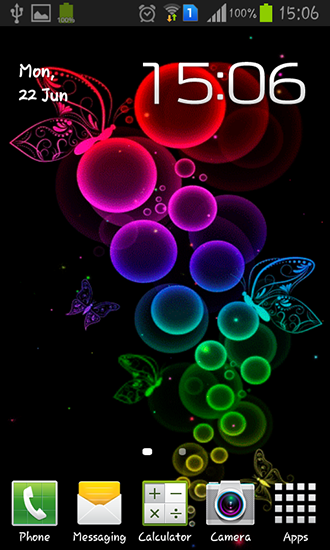 Download livewallpaper Bubble and butterfly for Android. Get full version of Android apk livewallpaper Bubble and butterfly for tablet and phone.