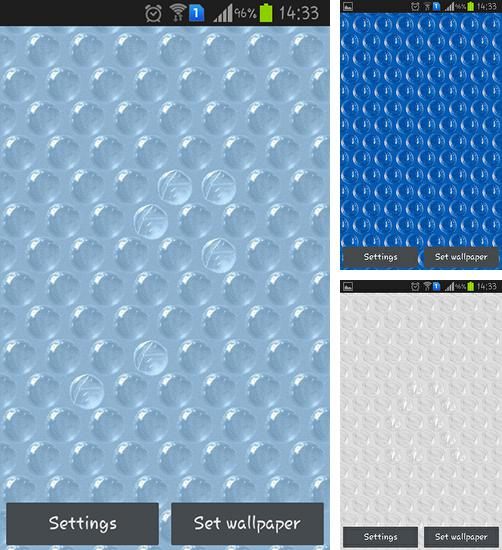 In addition to live wallpaper Thanksgiving by Fantastic Live Wallpapers for Android phones and tablets, you can also download Bubble wrap for free.